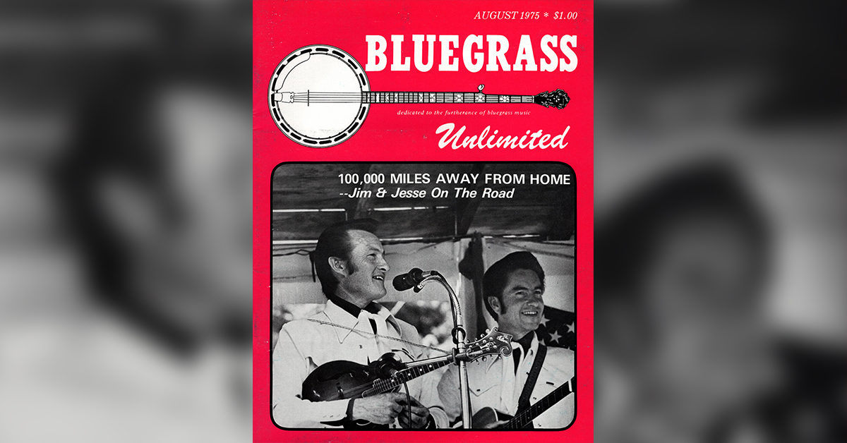 Archived Bluegrass Unlimited magazine cover