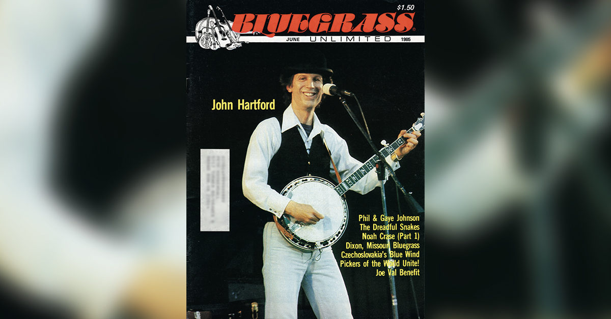 Archived Bluegrass Unlimited Cover