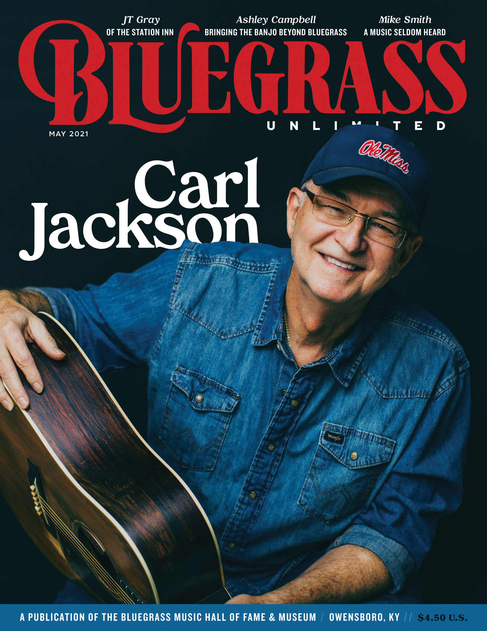 Bluegrass Unlimited May 2021 Cover
